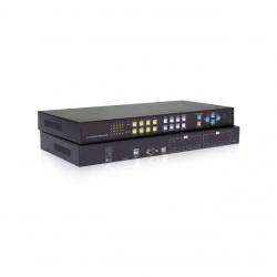 پردازشگر 4*4 ویدیویی HDMI برند UNICLASS مدل RH144 (ویدیو- مولتی-ویو- ماتریس)