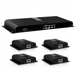 اسپلیتر اکستندر 1به4 HDMI لنکنگ مدل LKV314-HDbitT