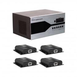 سوئیچ ماتریس مدولار 4در4 HDMI لنکنگ مدل LKV4x4 HDbitT
