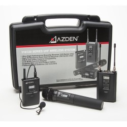 میکروفن بی سیم دو کانال AZDEN مدل 330LH