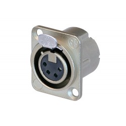 سرجک 4 پین نصبی  XLR    ماده  نوتریک (NC4FD-LX)