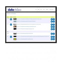نرم افزار حرفه ای ارسال ویدئو از شبکه Datavideo مدل DVS-100P