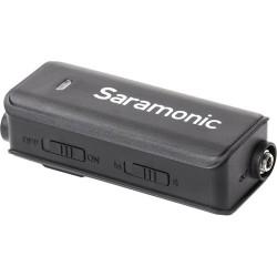 Saramonic LavMic Omnidirectional Lavalier Microphone with 2-Input Audio Mixer