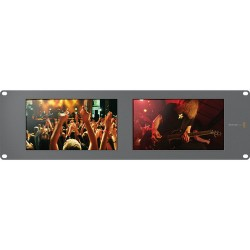 "SmartView Duo Rackmountable Dual 8"" LCD Monitors"
