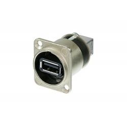 کانکتور USB نصبی نوتریک سیلور NAUSB-W