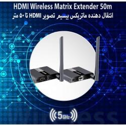 انتقال دهنده تصویر فول اچ دی LKV388M HDMI Wireless Matrix  50m