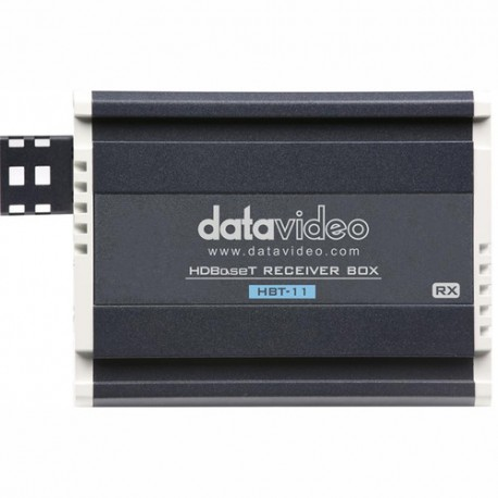 گیرنده صدا و تصویر HDMI با کابل شبکه دیتا ویدئو مدل:Datavideo  HBT-11