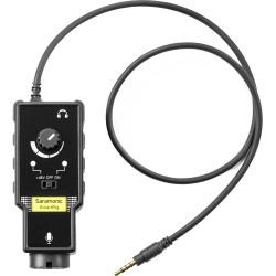 رابط صوتی گیتار و میکروفن مدل :Saramonic SmartRig II XLR Mic